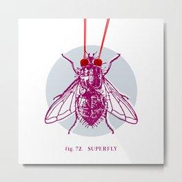 fig. 72 superfly Metal Print