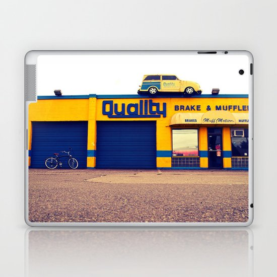 Car on roof Laptop & iPad Skin