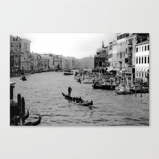 Grand Canal, Venice Canvas Print