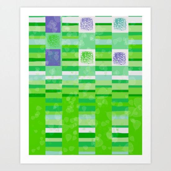 New Leaves Art Print