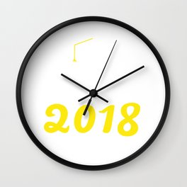 Class Of 2018 Wall Clock