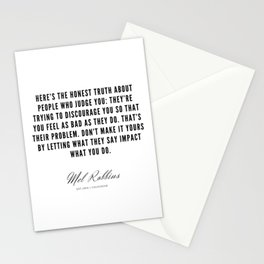 38  | Mel Robbins Quotes | 190802 Stationery Cards