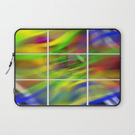 colourful abstraction Laptop Sleeve