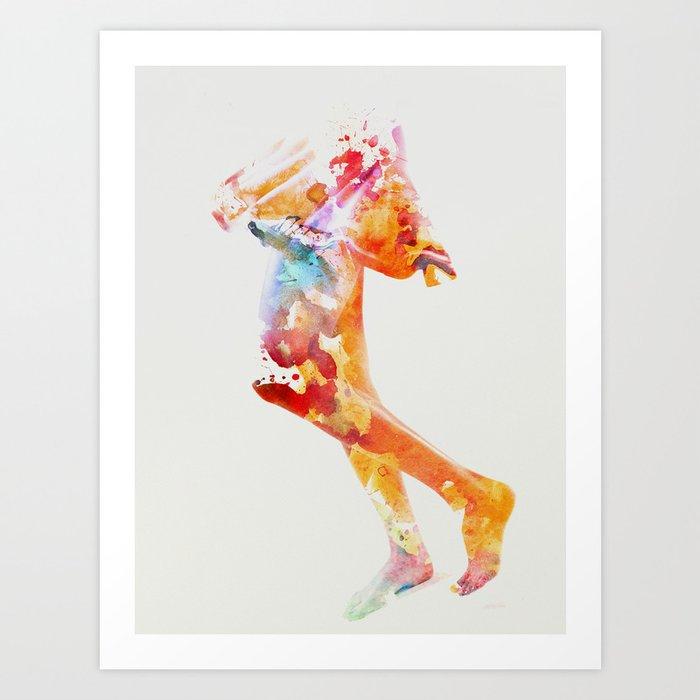 Skirt Art Print