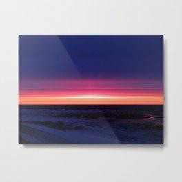 Sublime Seaside Sunset Metal Print