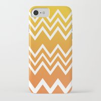 tequila iPhone & iPod Cases featuring Tequila Sunrise by Color and Form