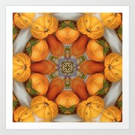 pumpkin ( pattern ) Art Print