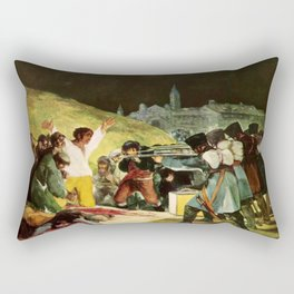 The Third Of May 1808 By Francisco Goya Rectangular Pillow