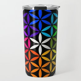 Secret flower of life Travel Mug