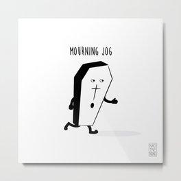 Mourning Jog Metal Print