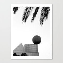 Flight between Canvas Print