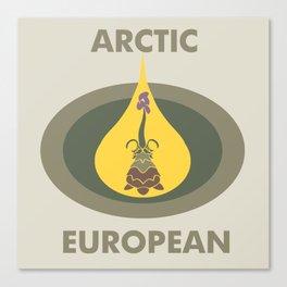 Artctic and European Canvas Print