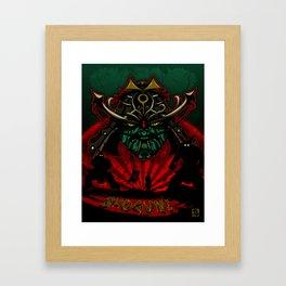 SHOGUN! Framed Art Print