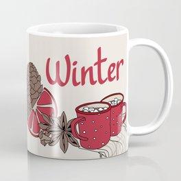 Winter dreams (colored) Coffee Mug