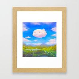 Cloudia Framed Art Print