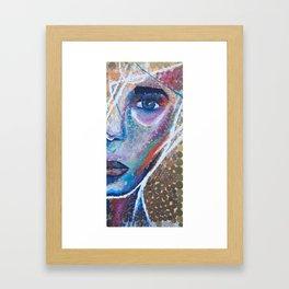 $ colorful coins $ Framed Art Print
