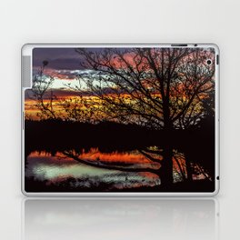 Halibut Point Sunset Laptop & iPad Skin
