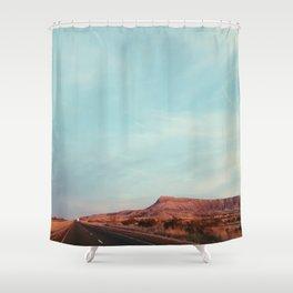 Texas I-10 Shower Curtain