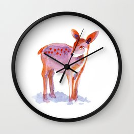 Bambi Wall Clock
