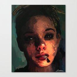 Gloomy Days Canvas Print
