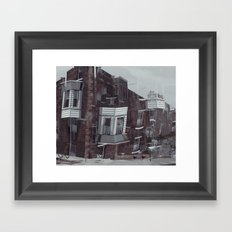 in a flash Framed Art Print