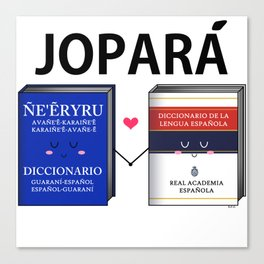 Jopara Love Canvas Print
