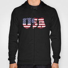 USA Stars & Stripes Hoody