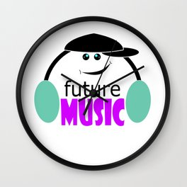 The music of the future 5 Wall Clock