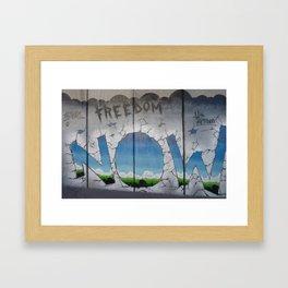 Freedom Now Framed Art Print