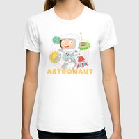 astronaut T-shirts featuring Astronaut by Alapapaju