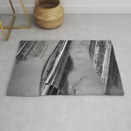 Wood and Sand Detail Rug