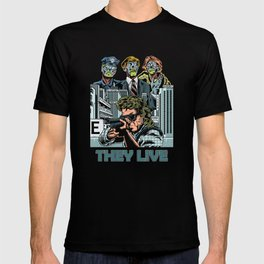 "John Carpenter's ""They Live"" T-shirt"