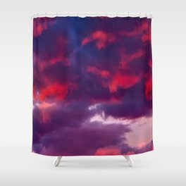 BRUISED Shower Curtain