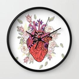 Anatomy of the heart Wall Clock