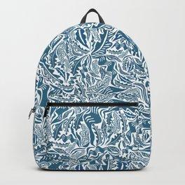 Folk Leaves Backpack