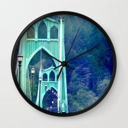 ST. JOHN'S BRIDGE Wall Clock