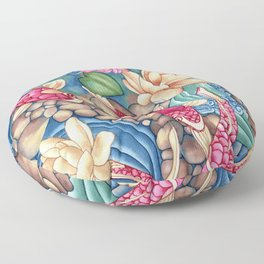 Koi Pond Floor Pillow