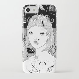 indoors / outdoors iPhone Case