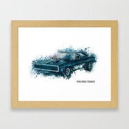 1970 Dodge Charger Framed Art Print