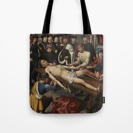 The Judgment of Cambyses Tote Bag