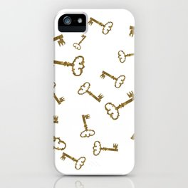 Golden Keys iPhone Case