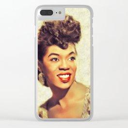 Sarah Vaughan, Music Legend Clear iPhone Case