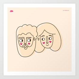 The motilon´s Art Print