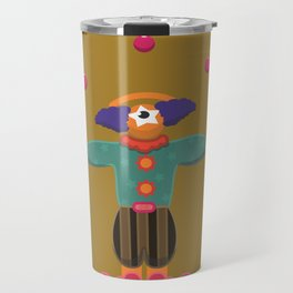 clown eye Travel Mug