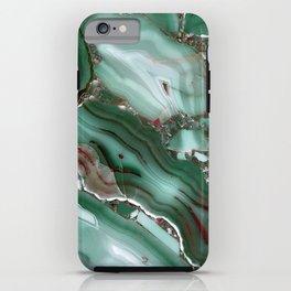 Luxury Malachite Marble Agate iPhone Case