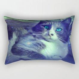 Vintage Cat I Rectangular Pillow