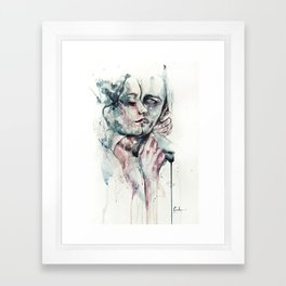 forever yours freckles Framed Art Print