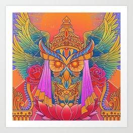 Goddess of the Night Art Print