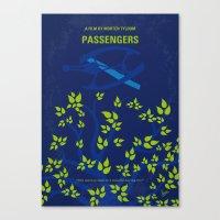 No803 My Passengers minimal movie poster Canvas Print