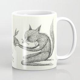 'Offering' - Grey Coffee Mug